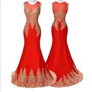 Grace Karin prom mermaid ball gown formal 16